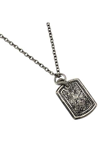 NOX Silberkette »Edelstahl 60cm Platte«, Anhänger mit Kette kaufen