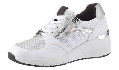TOM TAILOR Keilsneaker, mit Mesheinsatz kaufen