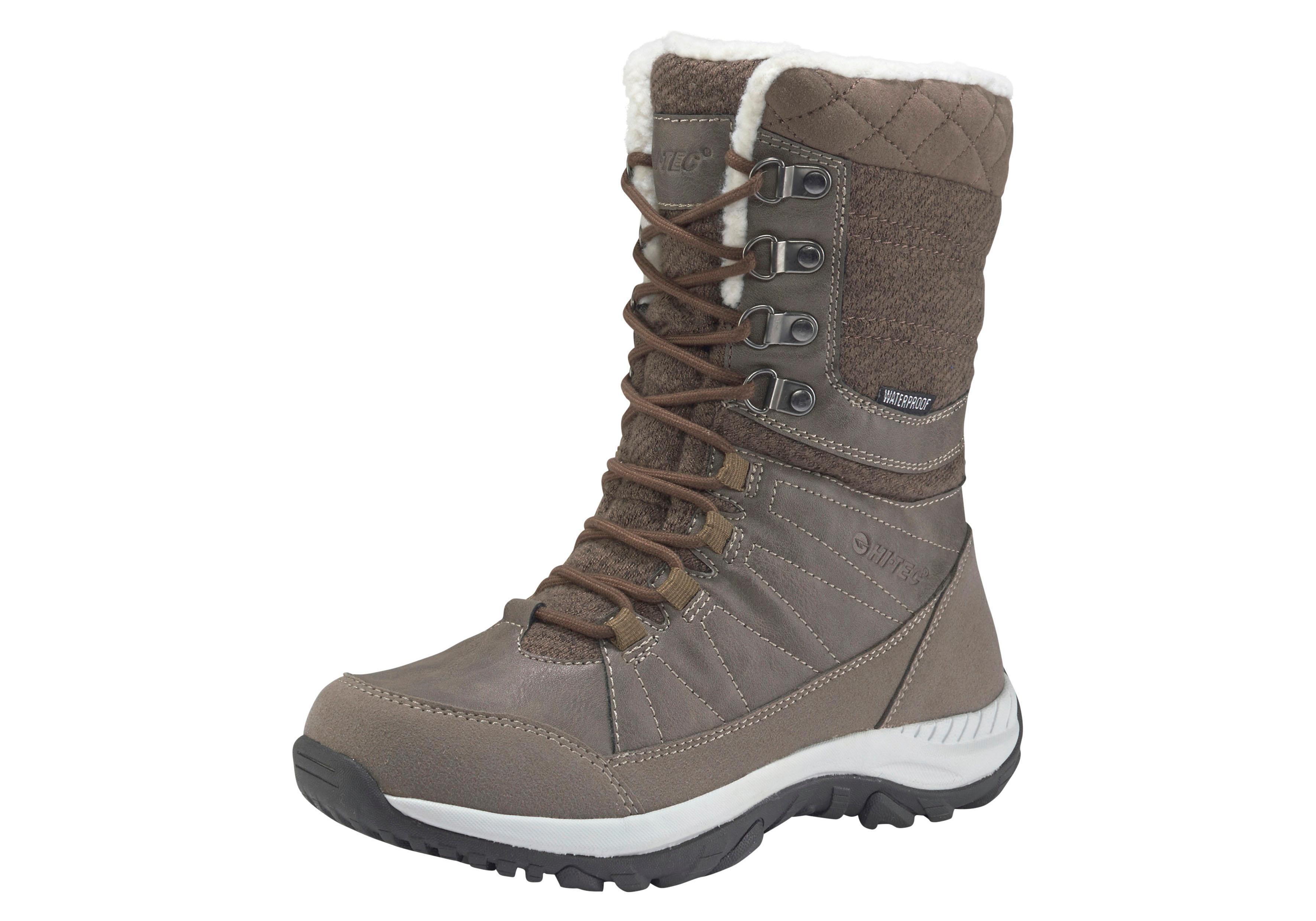 Hi-Tec Outdoorwinterstiefel Riva Waterproof | Schuhe > Outdoorschuhe > Outdoorwinterstiefel | Braun | Hi-Tec