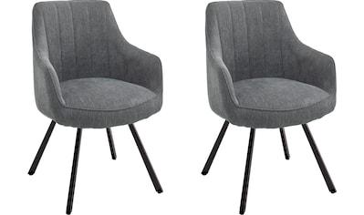 MCA furniture Esszimmerstuhl »Sassello«, Stuhl 180°drehbar mit Nivellierung,... kaufen