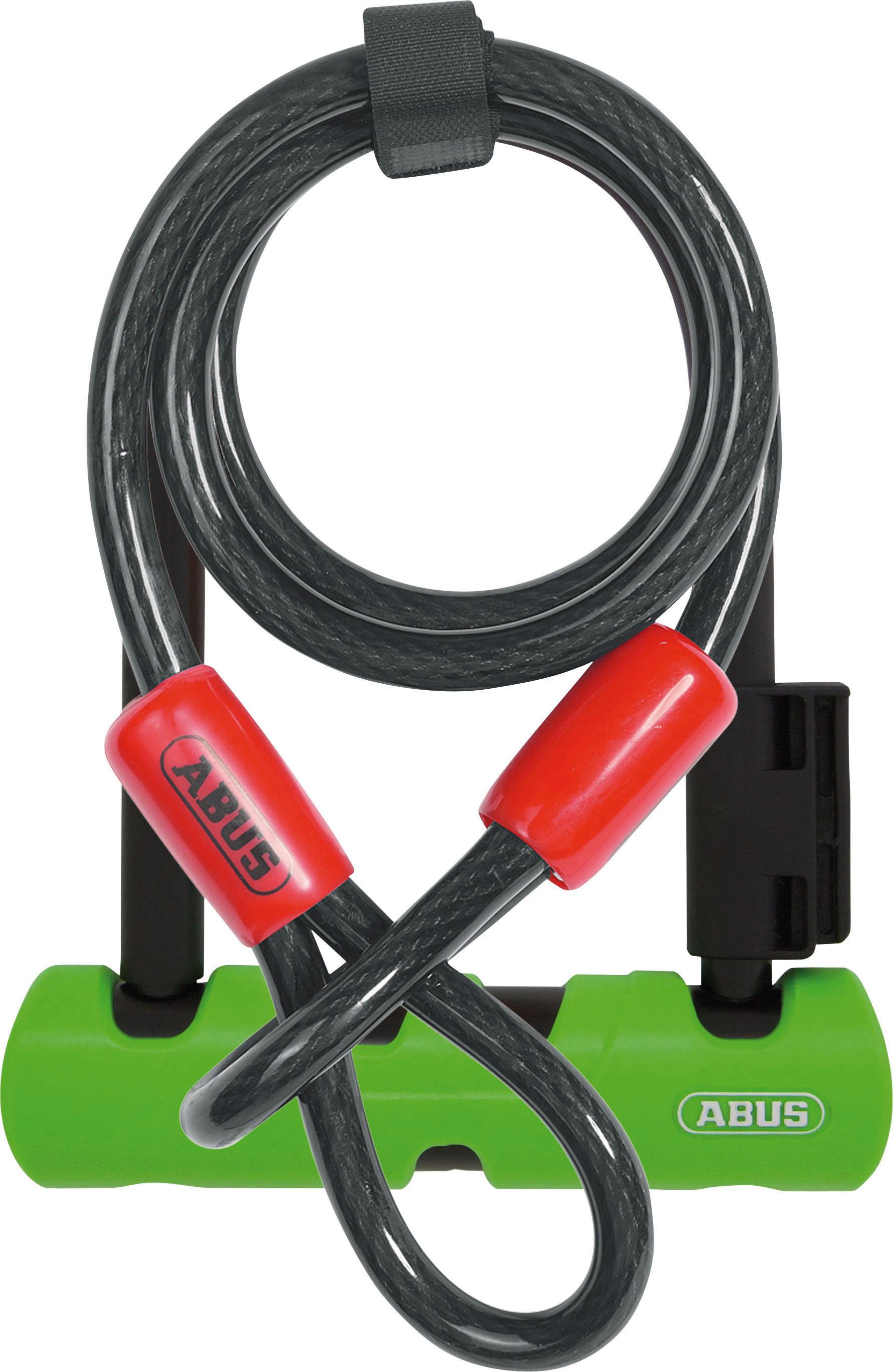 ABUS Bügelschloss 410/150HB140 SH34 +Cobra 10/120 Technik & Freizeit/Sport & Freizeit/Fahrräder & Zubehör/Fahrradzubehör/Fahrradschlösser/Bügelschlösser