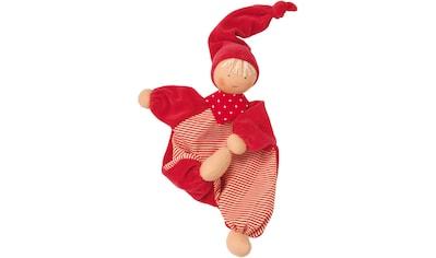 Käthe Kruse Stoffpuppe »Gugguli Rot«, (1 tlg.), mit extralanger Zipfelmütze kaufen