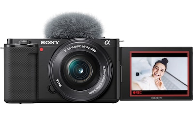 Sony Systemkamera »Alpha ZV-E10L«, E PZ 16 - 50 mm F3.5 - 5.6 OSS (SELP1650), 24,2 MP,... kaufen
