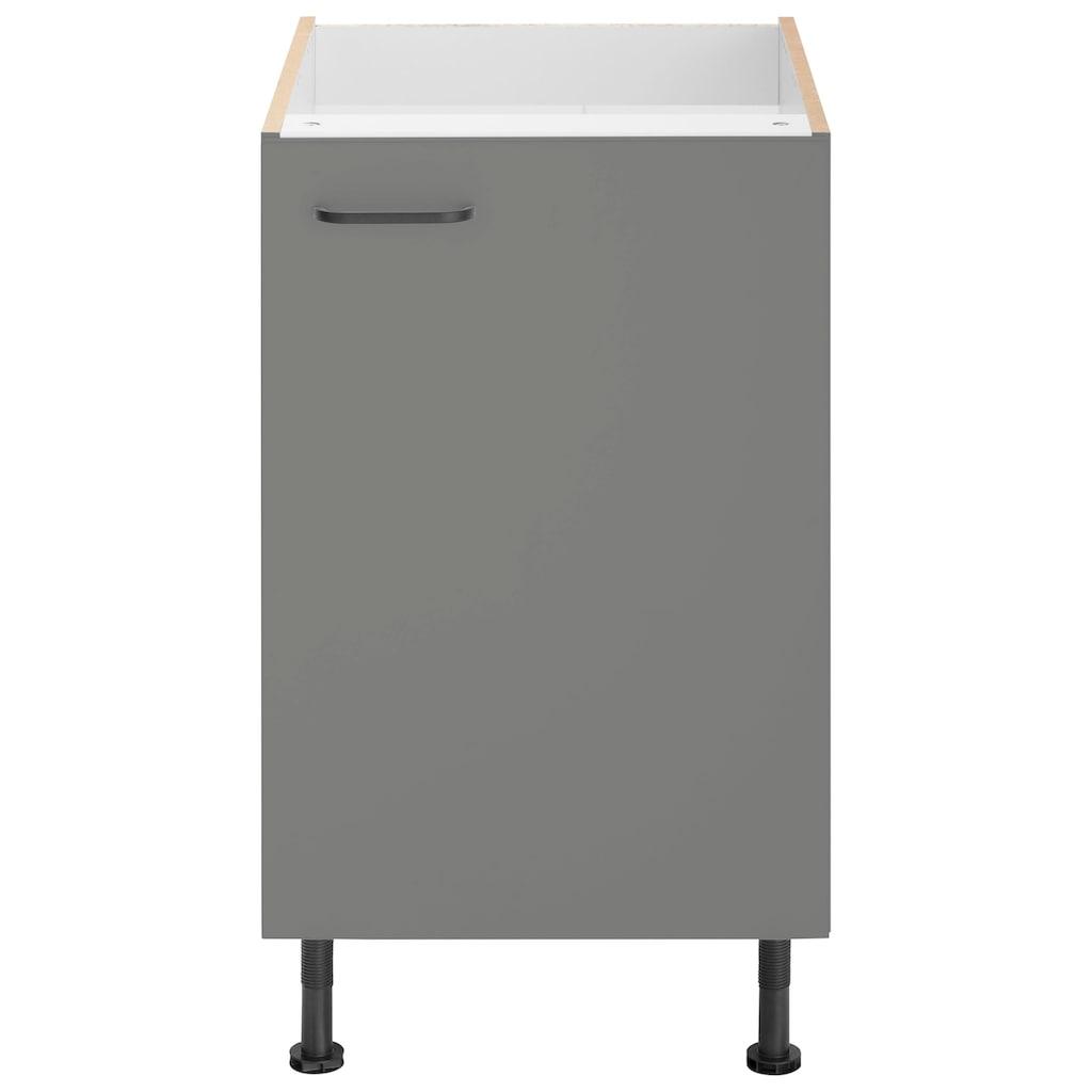OPTIFIT Spülenschrank »Elga«, mit Soft-Close-Funktion, höhenverstellbaren Füßen und Metallgriff, Breite 50 cm
