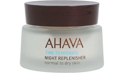 "AHAVA Nachtcreme ""Time To Hydrate Night Replenisher Normal Dry"" kaufen"