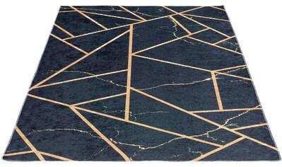 Sehrazat Teppich »Caimas 2990«, rechteckig, 5 mm Höhe, waschbar, weiche Microfaser, Wohnzimmer kaufen