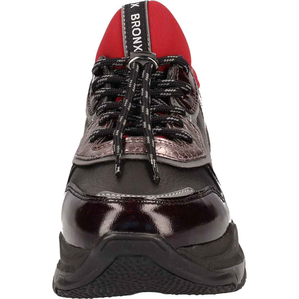 Bronx Sneaker »Nappaleder«