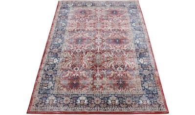 carpetfine Teppich »Vintage Marin«, rechteckig, 8 mm Höhe, Orient Vintage Look kaufen
