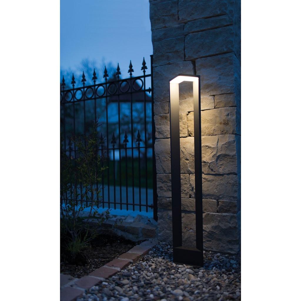 HEITRONIC Außen-Stehlampe »Bonita«, LED-Board, Warmweiß, Hoher Lichtstrom mit 600 lm
