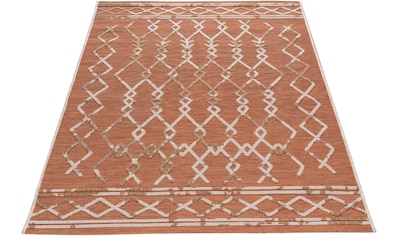 Sehrazat Teppich »Road 3490«, rechteckig, 1 mm Höhe, In- und Outdoor geeignet, Wohnzimmer kaufen