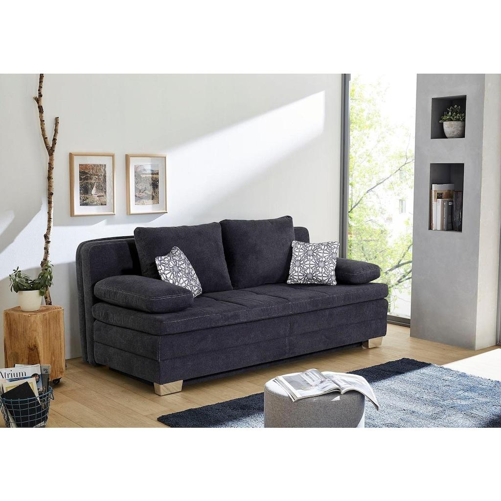 Jockenhöfer Gruppe Schlafsofa, als Dauerschläfer mit hervorragendem Sitz- und Liegekomfort