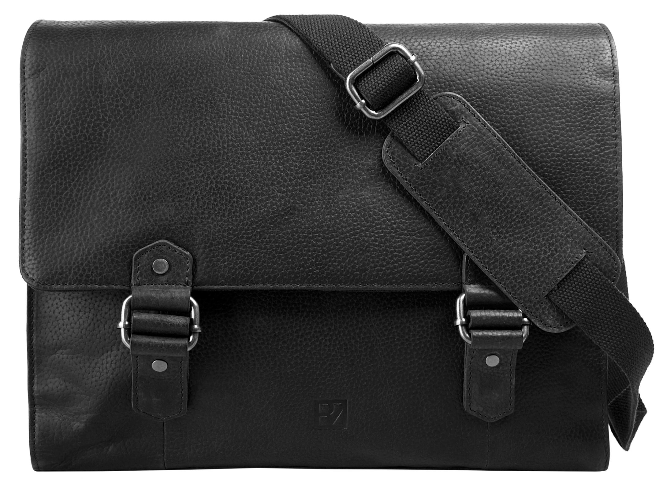 BODENSCHATZ Messenger Bag SIERRA | Taschen > Business Taschen | Schwarz | Bodenschatz