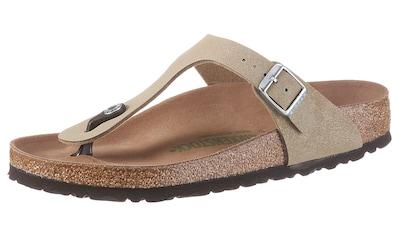 Birkenstock Zehentrenner »Gizeh«, mit ergonomisch geformtem Fußbett kaufen
