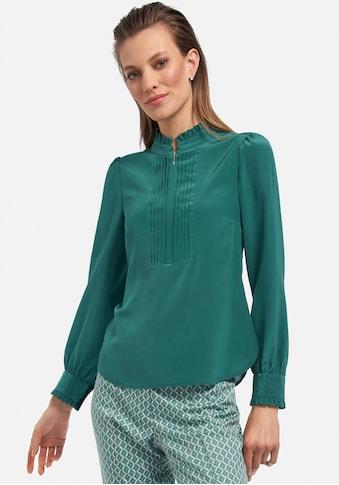 Uta Raasch Langarmbluse »Bluse aus 100% Seide«, mit Rüschen kaufen