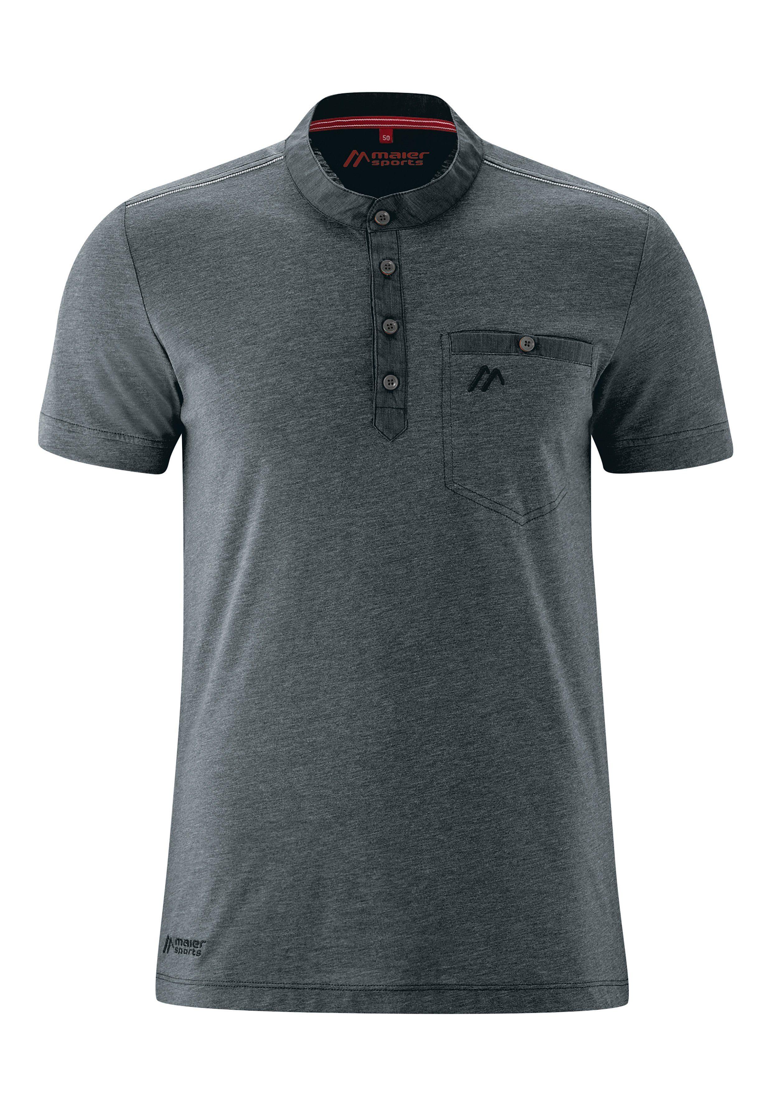 Maier Sports Funktionsshirt Doolin S/S M | Sportbekleidung > Sportshirts > Funktionsshirts | Grau | Maier Sports
