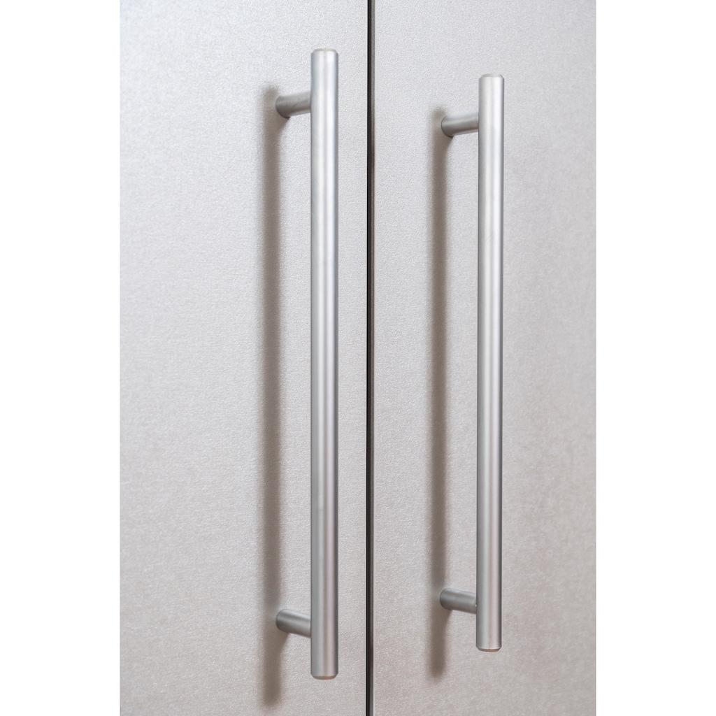 RESPEKTA Miniküche, mit Kochplatten, Kühlschrank und Mikrowelle