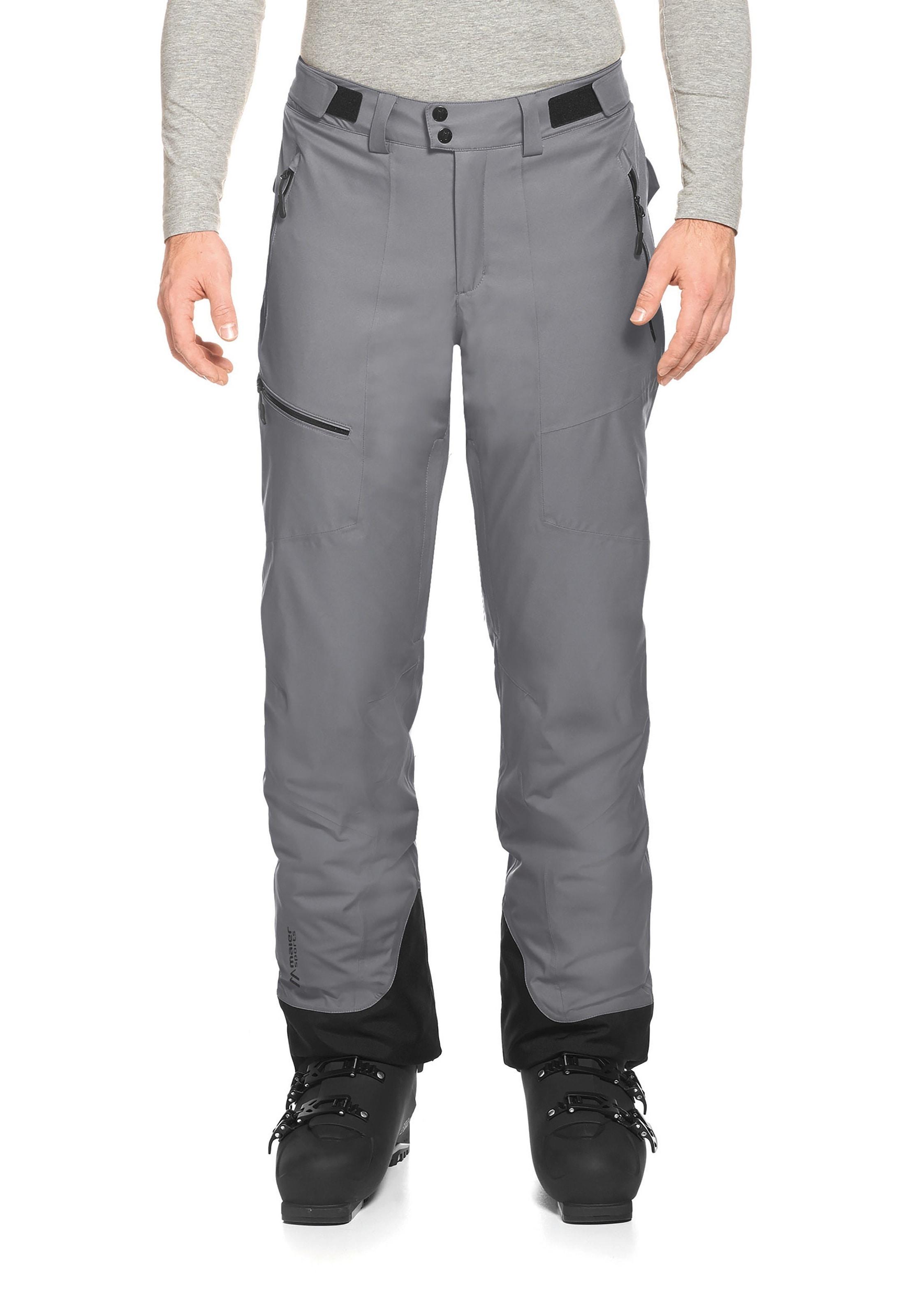 Bekleidung Maier Sports Copper Slim Skihose schwarz