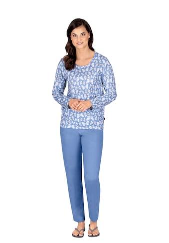 Trigema Pyjama, im Schmetterlings-Look kaufen
