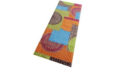Läufer, »Ethno Pop«, wash+dry by Kleen - Tex, rechteckig, Höhe 9 mm, gedruckt kaufen