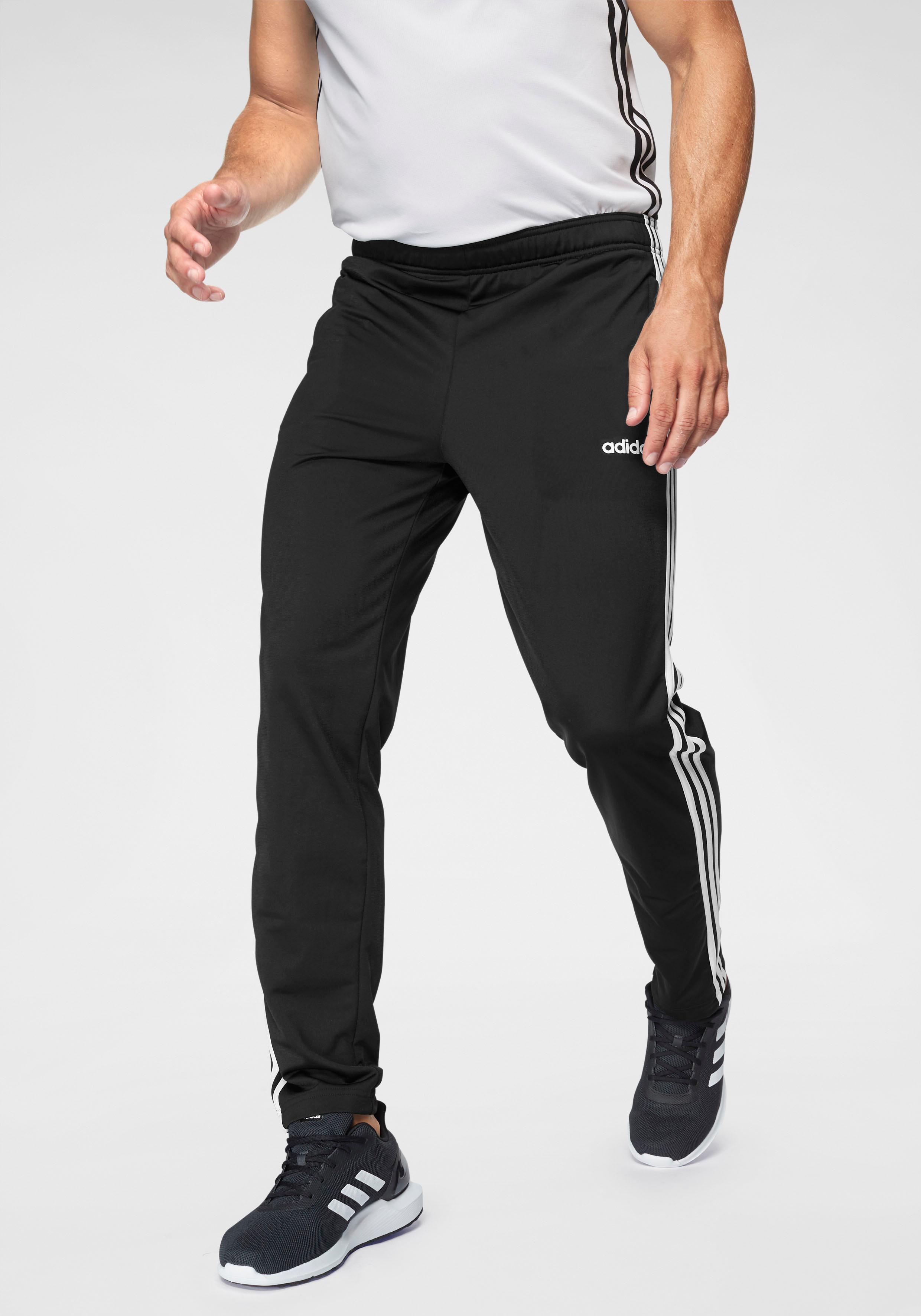 adidas Trainingshose E 3 STRIPES TRACK PANT TRIC | Sportbekleidung | Schwarz | Adidas