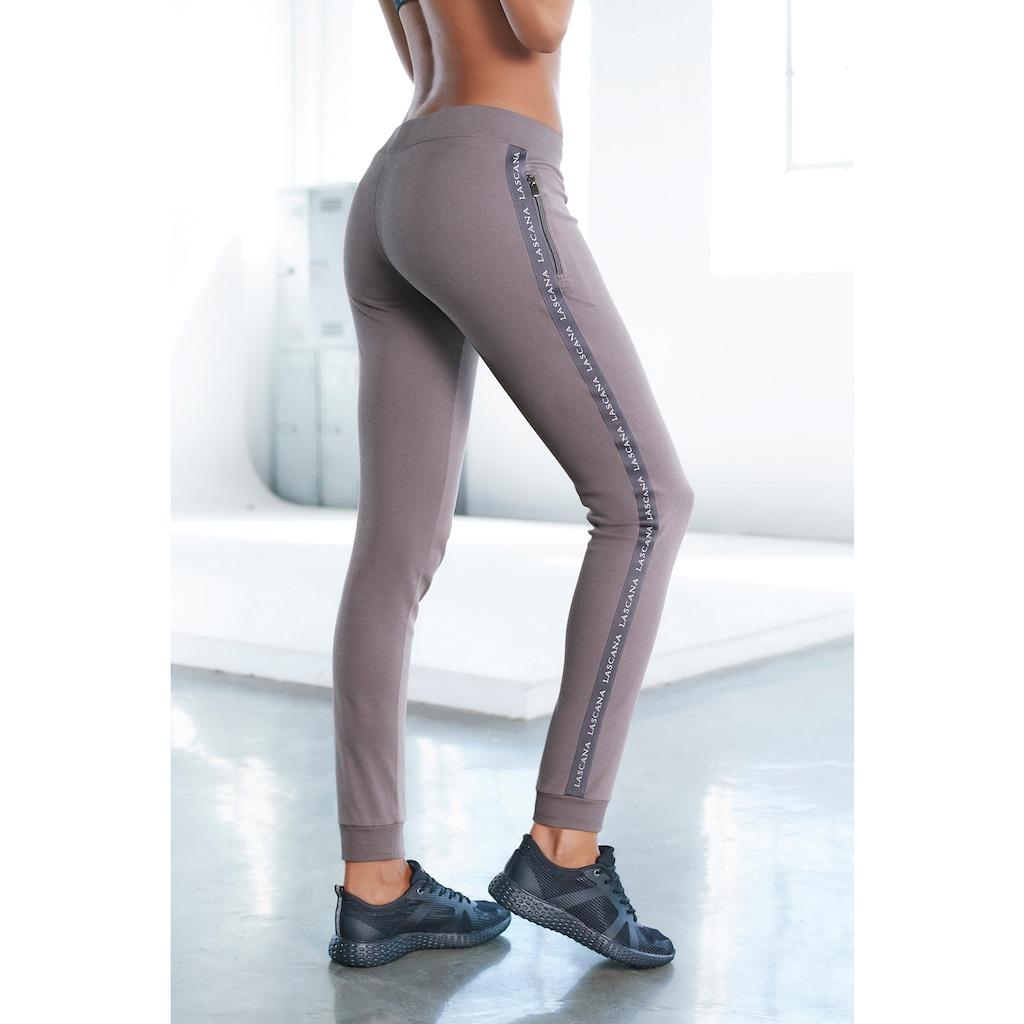 LASCANA ACTIVE Jogginghose, mit Reißverschlusstaschen