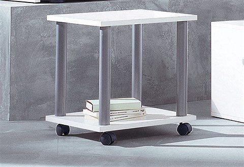 FMD Beistelltisch Jango 11 weiß Servierwagen Kleinmöbel Tisch