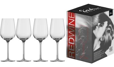 Eisch Rotweinglas »Vinezza«, (Set, 4 tlg.), bleifrei, 430 ml, 4-teilig kaufen