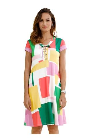 Amy Vermont Jerseykleid mit Schnürung am Ausschnitt kaufen
