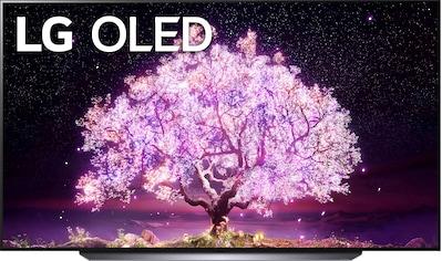 "LG OLED-Fernseher »OLED83C17LA«, 210 cm/83 "", 4K Ultra HD, Smart-TV, OLED Panel (bis... kaufen"