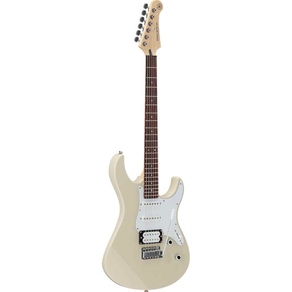 Yamaha E-Gitarre »PA112VWWRL, Vintage White«