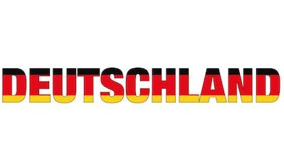Wall-Art Wandtattoo »Deutschland Schriftzug« kaufen