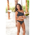 LASCANA Bustier-Bikini-Top »Jada«, in One-Shoulder-Form
