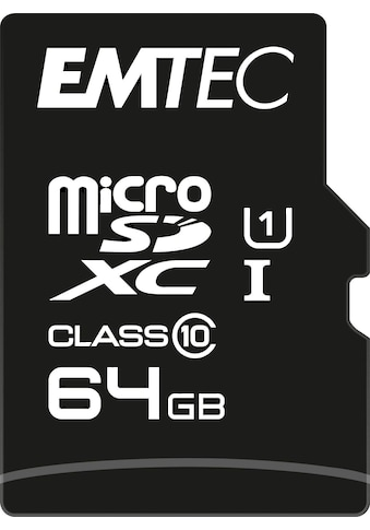 EMTEC »microSD UHS - I U1 EliteGold« Speicherkarte kaufen