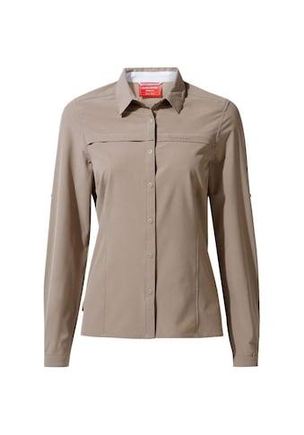 Craghoppers Langarmbluse »Damen Langarmhemd NosiLife Pro II« kaufen