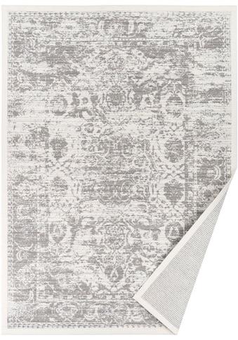 andas Teppich »Beena«, rechteckig, 7 mm Höhe, Wendeteppich mit zwei Designs, Wohnzimmer kaufen