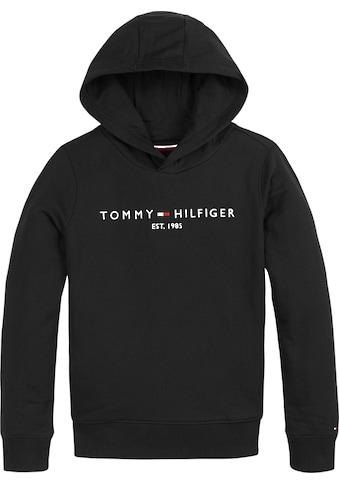 TOMMY HILFIGER Kapuzensweatshirt »ESSENTIAL HOODIE« kaufen