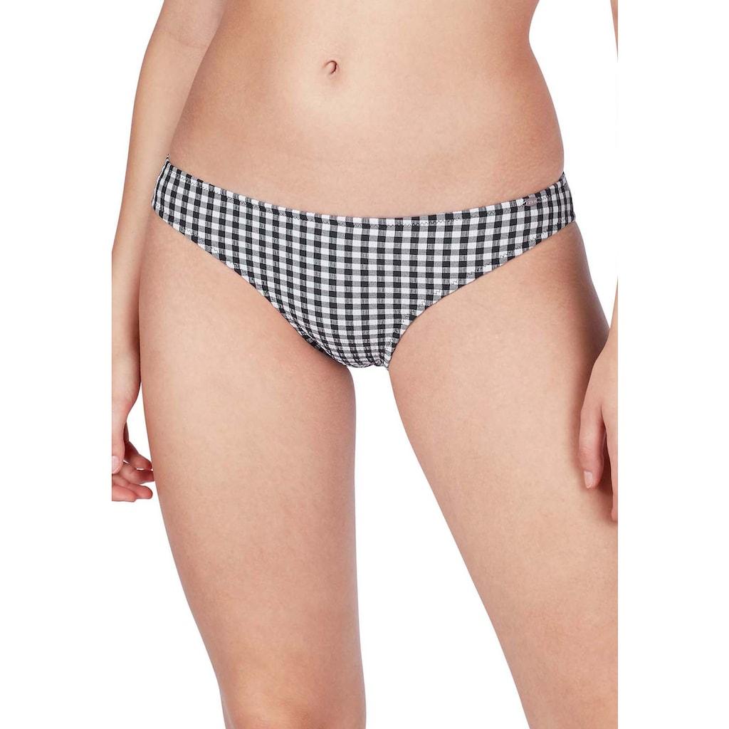 Skiny Bikini-Hose »Plaid Sun«, im angesagten Karo-Muster