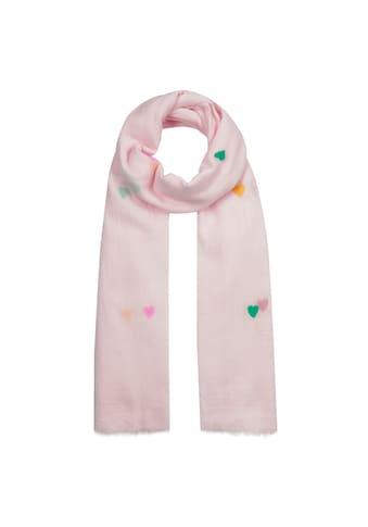 Codello Herzchen - Schal aus feiner Sommerbaumwolle kaufen