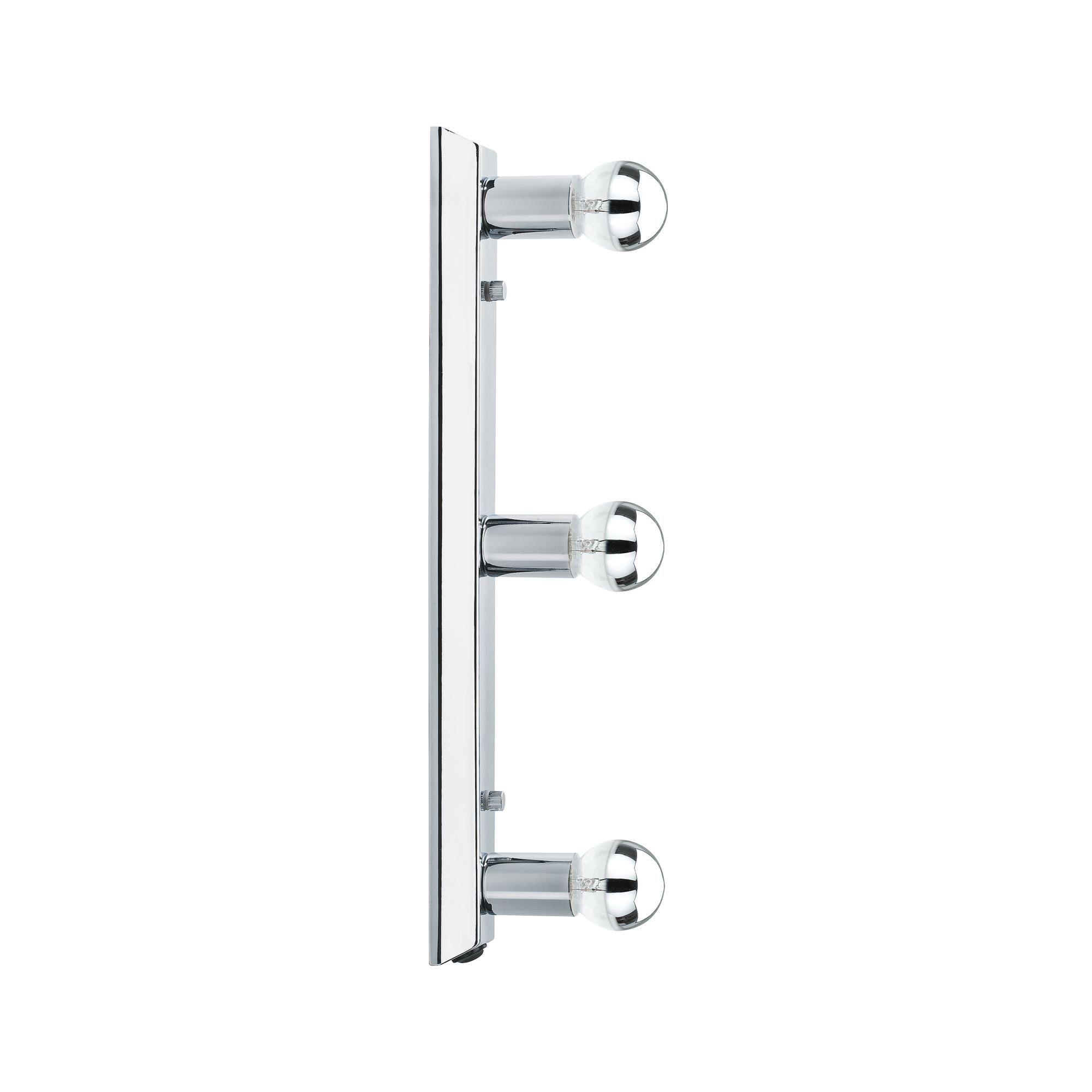 Paulmann LED Wandleuchte Spiegelleuchte Regula Chrom max. 40W E14, E14, 1 St.