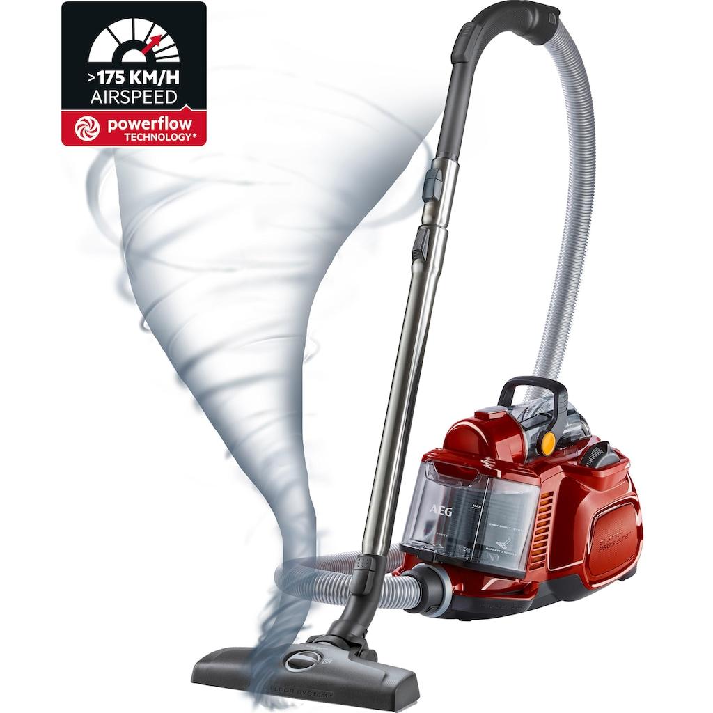 AEG Bodenstaubsauger »LX7-2-CR-A«, 750 W, beutellos, Ideal für Haustierbesitzer und Allergiker