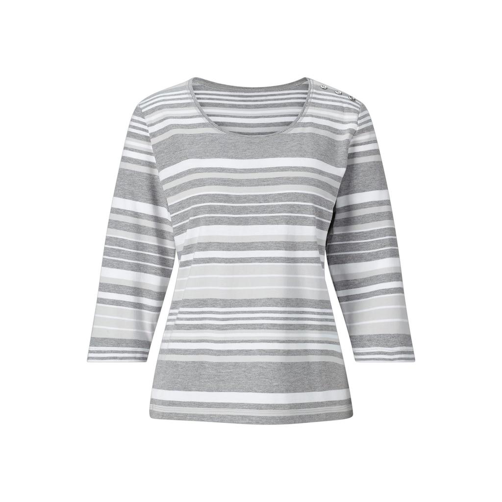 Casual Looks 3/4-Arm-Shirt