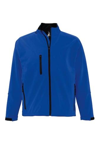 SOLS Softshelljacke »Herren Relax Softshell-Jacke, atmungsaktiv, winddicht, wasserdicht« kaufen