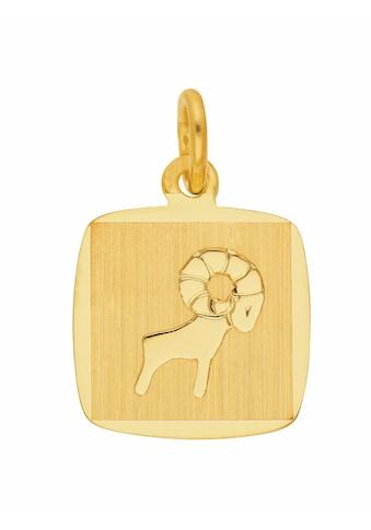 Adelia´s Kettenanhänger »333 Gold Sternzeichen Anhänger Widder« kaufen