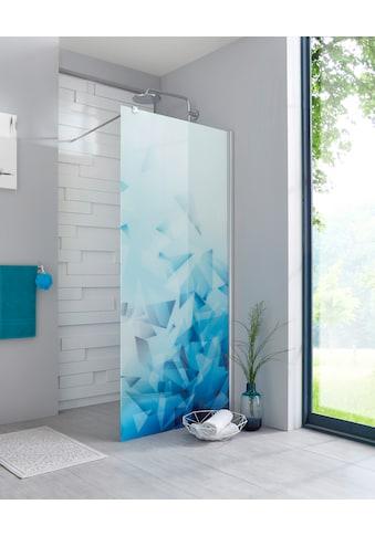 maw Walk-in-Dusche »Relax«, Breite 100 cm, Bildmotiv, Duschabtrennung kaufen