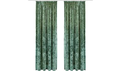 Vorhang, »Velvet«, my home, Kräuselband 1 Stück kaufen