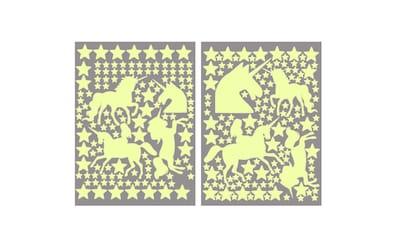 Wall-Art Wandtattoo »Leuchtsterne Einhörner Set« kaufen