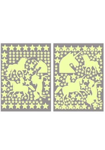 Wall - Art Wandtattoo »Leuchtsterne Einhörner Set« (1 Stück) kaufen