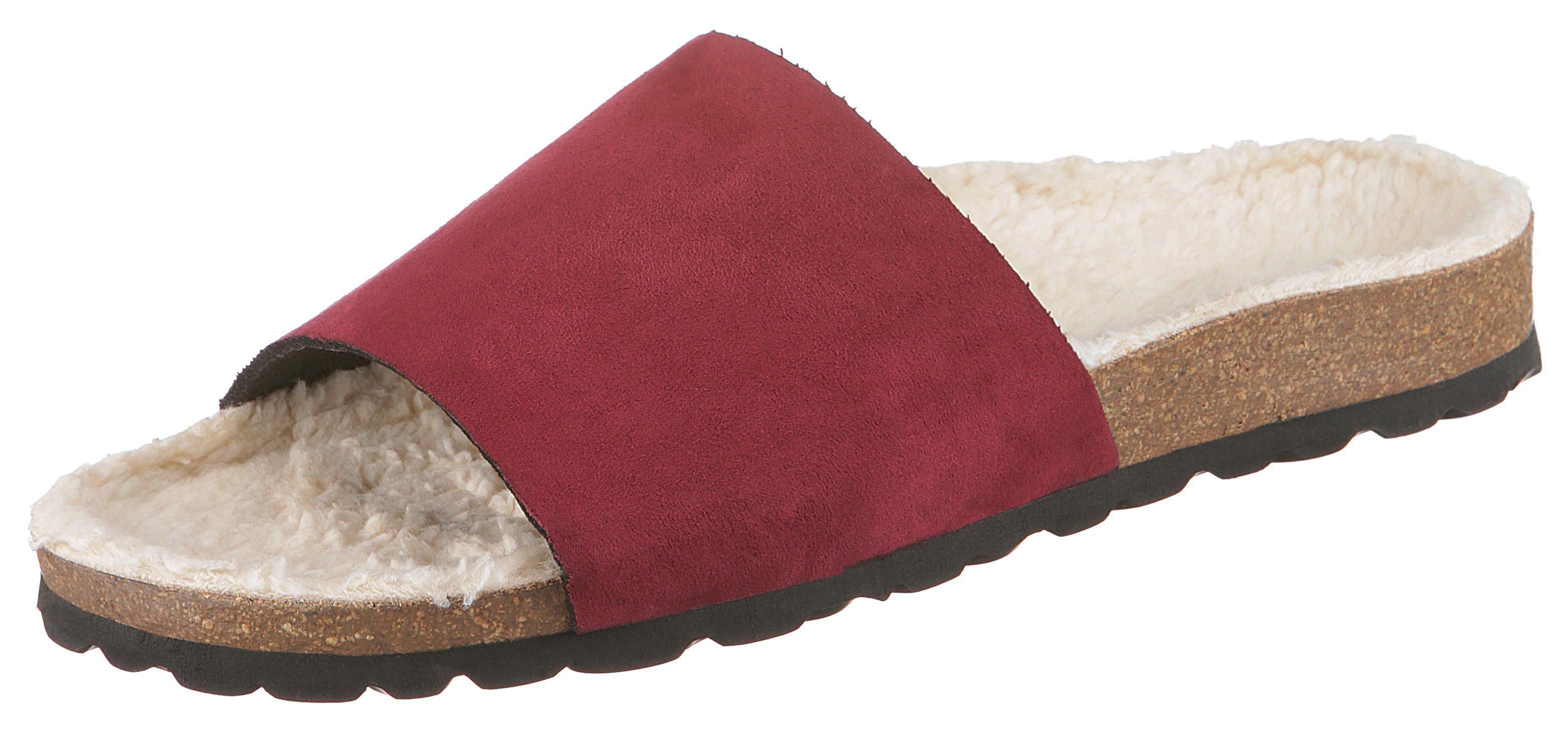 thies Schlappen | Schuhe > Hausschuhe > Pantoletten | Rot | Thies