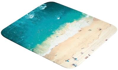 Kleine Wolke Duscheinlage »Waikiki«, mit Strand - Motiv, 55x55 cm kaufen