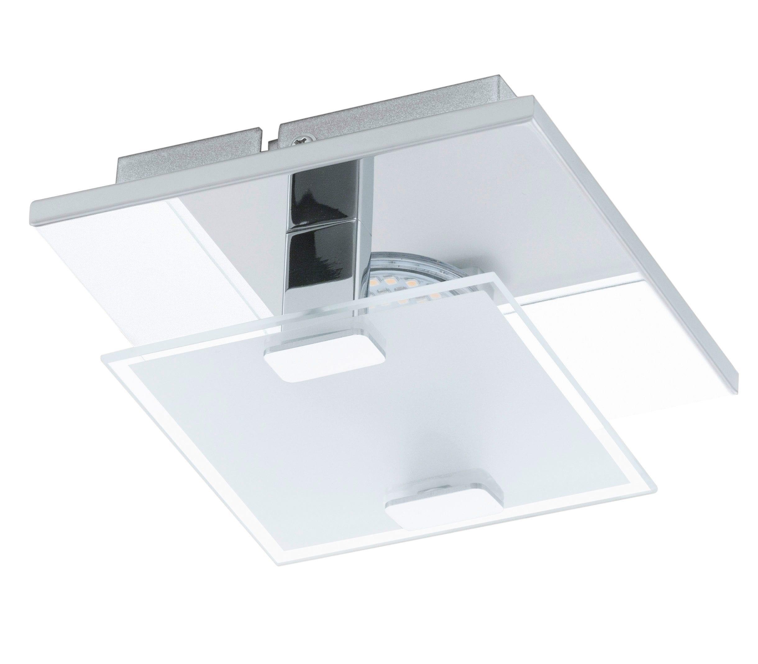 EGLO LED Wandleuchte VICARO   Lampen > Wandlampen   Edelstahl   Eglo